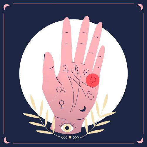 wróżenie z ręki - merkury